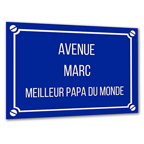 Fausse Plaque de Rue en Aluminium personnalisée à Votre...