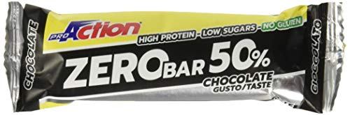 ProAction Zero Bar 50% (cioccolato, confezione da 20...