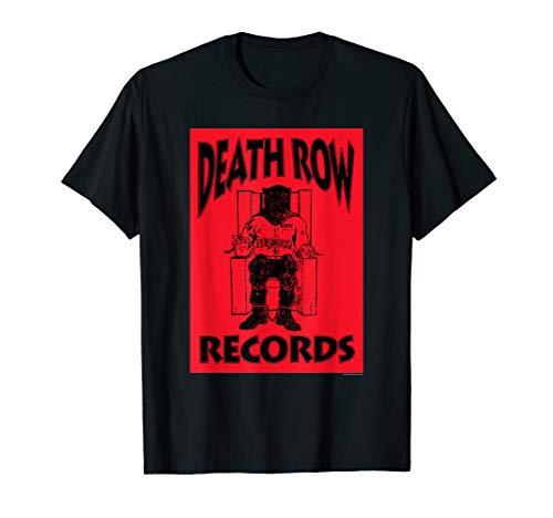 Death Row Records Logo Black Box Reversed T-Shirt