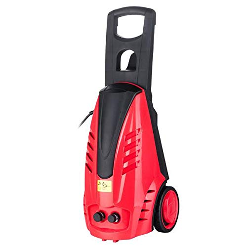 Affordable SISHUINIANHUA 1800W Brush Motor High Pressure Washer Red