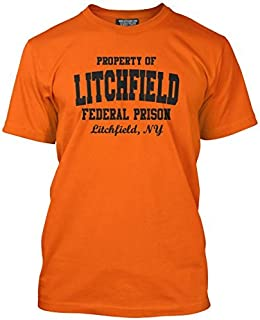 T-Shirt Coupe Ample Litchfield Federal Prison is The New Black