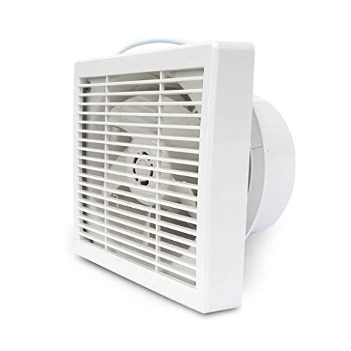 LANDUA Ventilador de ventilación, a través de-la-Pared de ventilación del Ventilador, la casilla Blanca Extintor, Zona Techo del baño Extintor