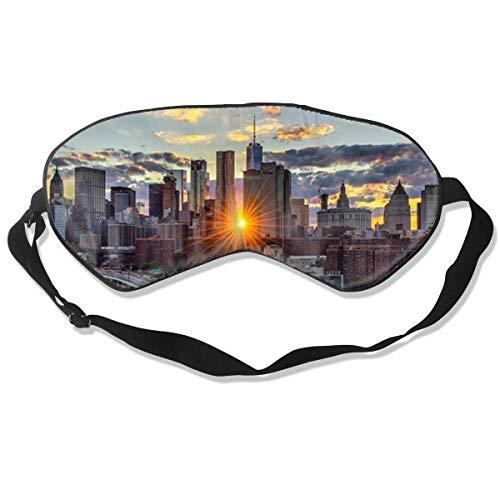 Máscara de seda de Nueva York con correa ajustable para la cabeza...