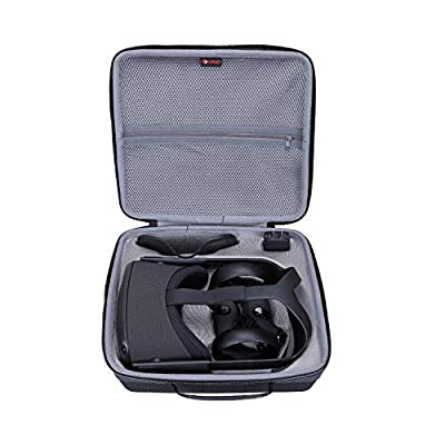 XANAD Hard Travel Carrying Case for Oculus Quest All-in-one VR Gaming Headset - Storage Protective Bag from XANAD
