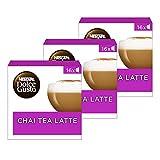Nescafé Dolce Gusto Chai Tea Latte, 3Pack (48Cápsulas)