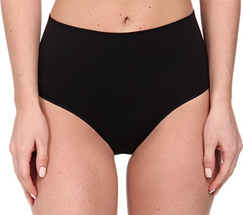 Spanx Damen SS0715-BLACK-L Shapewear-Unterhose, Schwarz (Schwarz Schwarz), 40 (Tamaño del Fabricante:L)