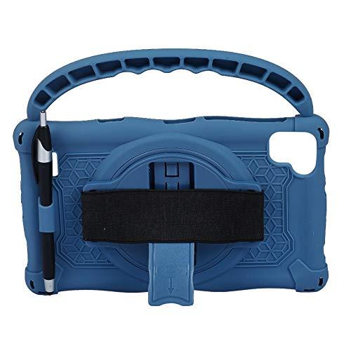BOINN Funda de Silicona para Teclast P80 P80X P80H Tablet de 8 Pulgadas Funda AnticaíDa para Tableta Soporte para Tableta con Asa y BolíGrafo (Azul)