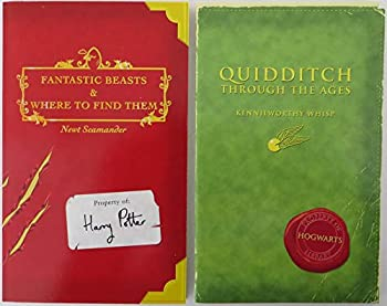Paperback Classic Books from the Library of Hogwarts School of Witchcraft and Wizardry : Quidditch Through the Ages; Fantastic Beasts and Where to Find Them Book