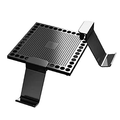 nJiaMe Controlador Cubierta de Polvo Titular Compatible con Xbox Serie X Consola de Juegos Auriculares Soporte del sostenedor del Montaje Accesorios Negro