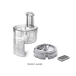 Bosch MUZ5CC2 – Piezas de repuesto para robots de cocina, color gris