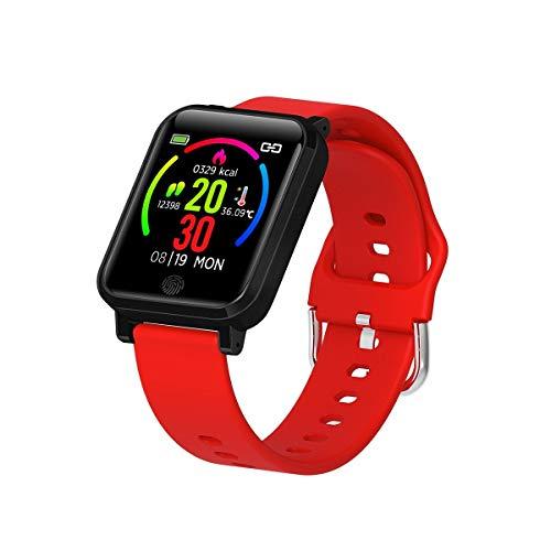 F29 pulsera inteligente con monitor de temperatura 1.3 pulgadas IP67 impermeable deporte smartwatch