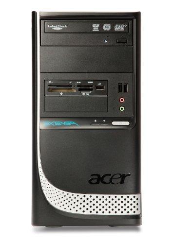 Acer Extensa E470 - Ordenador de sobremesa (E5700, Torre, Intel® Pentium®, DVD-RW, Negro, Intel GMA X4500)