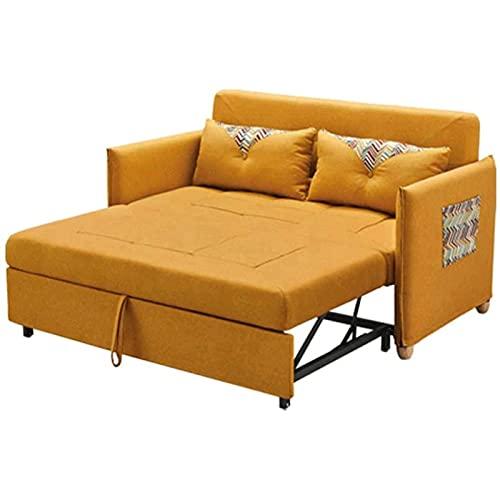 Tolalo Sofá Cama Plegable sofá compacta Suave Terciopelo sofá Cama Sofá Cama 2 en 1 sofá Cama con 2 Almohadas lumbares para Dormitorio Dormitorio Sala de recepción (Size : 1.5m)