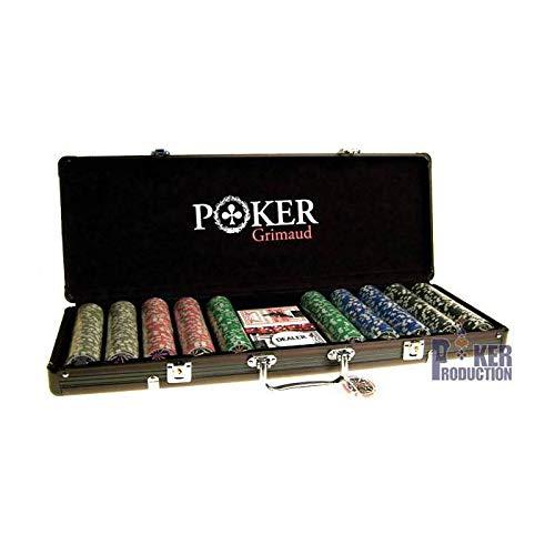 Cartes Production - Valigetta da Poker di Grimaud, 500 fiches [Importato da Francia]