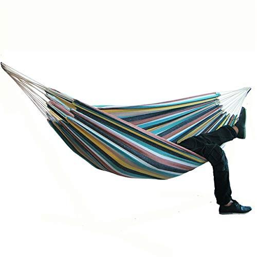 Acampar hamaca al aire libre cama colgante lienzo Mecedora no con el soporte 200 * 150cm,A