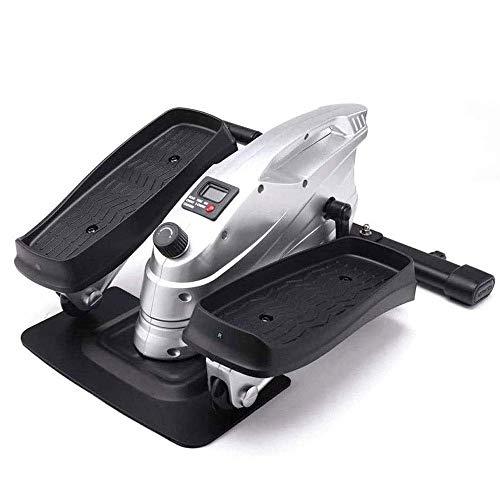 BJH Mini Entrenadores elípticos, máquina elíptica Paso a Paso con Pedal, Bicicleta estática de Ciclo silencioso con Resistencia Ajustable y Monitor LCD para Entrenamiento en el hogar y la oficin