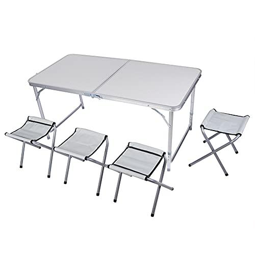 TANKE Mesa Plegable - Cocina Plegable, Comedor, jardín, Picnic al Aire Libre,...