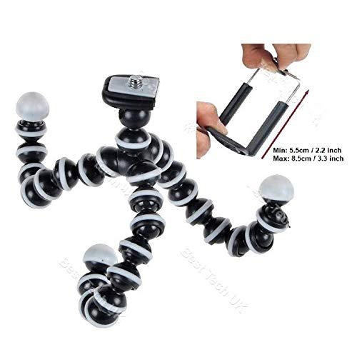 HpyAlwys Camera Cam DSLR SLR Flexibele Statief Gorilla Octopus Bevestiging Stand Houder 1/4-20