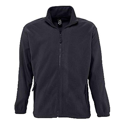 Sols Fleecejacke Fleece Jacke North bis Gr. 5XL ,Charcoal Grey, L