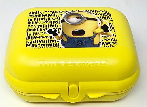 Tupperware to Go Twin Minion Minions gelb Brotdose Box Behälter Kindi Twin Kindergarten Kinder Schule Größe 2
