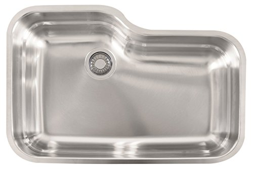 Franke USA ORX110 Sink, 30.5-inch x 20-inch x 9-inch deep, Stainless Steel
