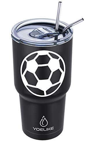 Stainless Steel Insulated Soccer Tumbler