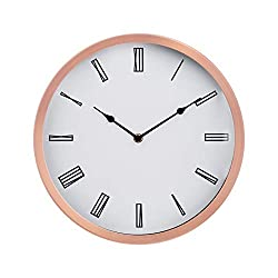 Amazon Basics 12 Roman Wall Clock - Copper