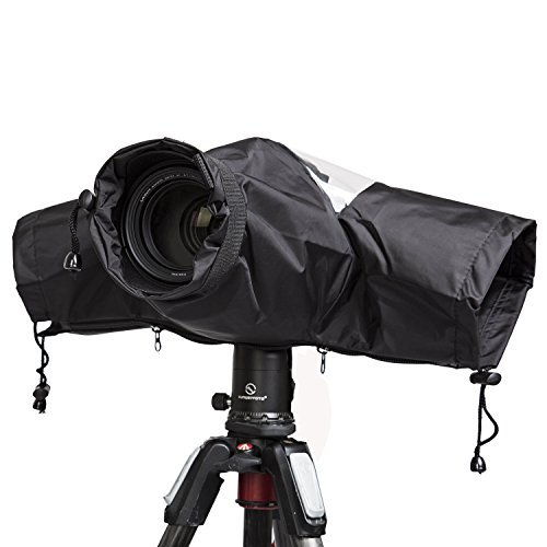Professional Waterproof DSLR Camera Rain Cover for Digital SLR Cameras,Nikon/Canon/Sony and etc