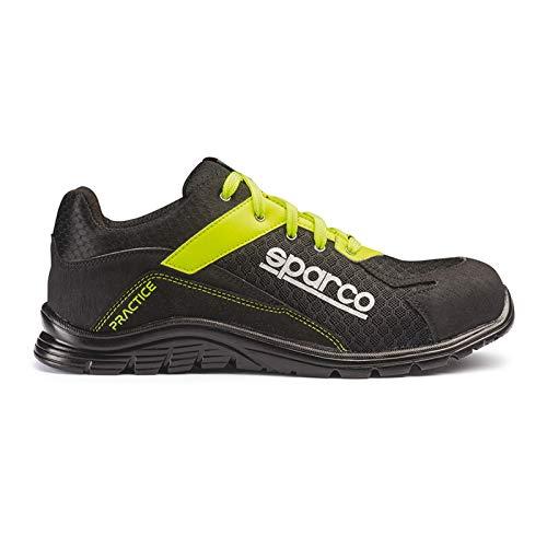 Sparco Original Shoes - Zapatillas de seguridad antifortunistas Verde Size: 41 EU