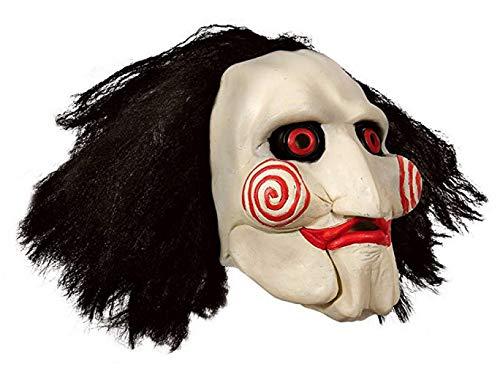 thematys Horror Maske Halloween Karneval Kostüm Fasching Party (Jig Saw)