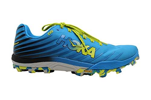 Hoka One One Evo Jawz Chaussures de running pour homme, 705_12023, Cyan Citrus, 44 EU