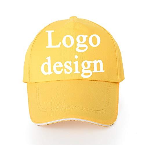 Gorro bordado con logotipo personalizado, gorro de texto personalizado para hombres y mujeres, cierre de correa, como logotipo bordado club, algodón #4