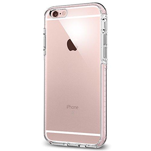 Cover iPhone 6S, Spigen Cover iPhone 6 [durevole assorbimento di scossa] Ultra Hybrid Tech [Crystal Rose] Aria-Cuscino Tecnologia di Assorbimento, Custodia Apple iPhone 6S / iPhone 6 (SGP11788)