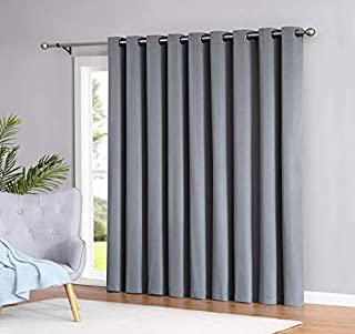 Madison - 100% Blackout Curtains - 96 Inch Long - Newly Innovated - Eco Friendly - Light Weight Fabric with Grommets - Heat and Light Blocking Drapes (110