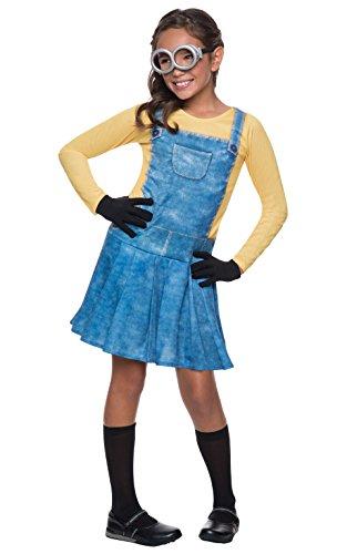 """Rubie's offizielles Minion-Kostüm für Kinder, Universal Studios """"Ich - Einfach unverbesserlich"""", Damen, Minion -Größe L"""