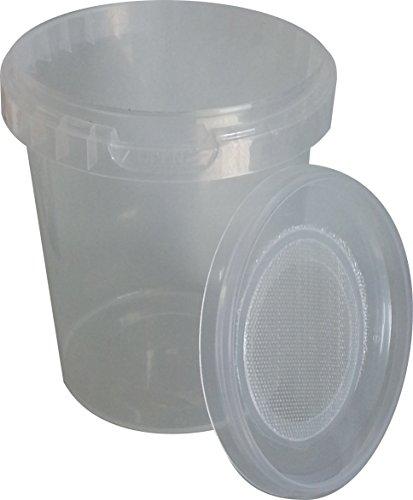Allterra Drosophila-Zuchtbehälter, 10 Stück