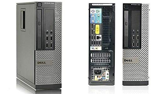 Dell OptiPlex 7010 SFF 3rd Gen Core i5-3470 16GB 240GB, 500GB DVDRW Windows 10 Professional 64-Bit Desktop PC Computer (Renewed)