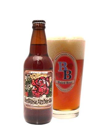 ベアードビール『レッドローズ アンバーエール』