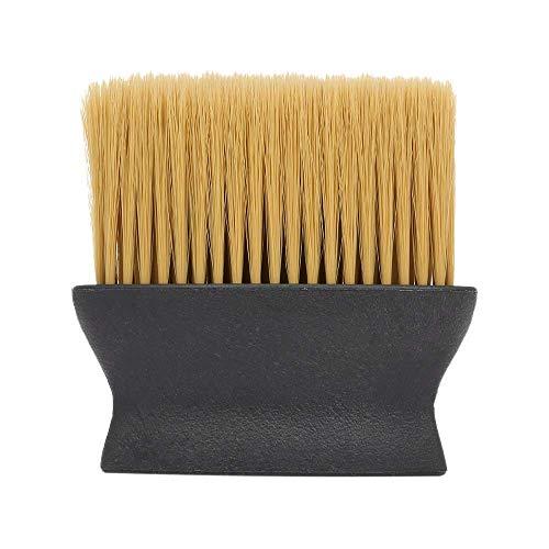 TOOGOO Cheveux Doux Coupe Visage Cou Duster Brosse pour Coiffure Styliste Professionnel Salon Barber Nettoyage Brosse Outil