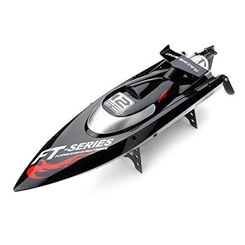 GRTVF 2.4GHz RC Boat 25 mph High Speed Control Remoto Boats Motor sin escobillas para Piscinas y Lagos con Sistema de refrigeración por Agua y reinicio de Giro