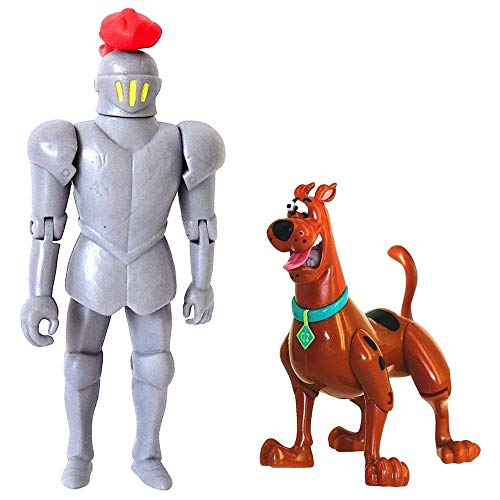 Scooby-Doo! 50th Anniversary Twin Figure Pack Exclusive - Frightface Scooby and The Black Knight