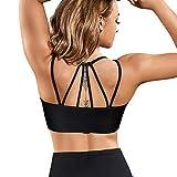 Gotoly Mujer Sujetador Deportivo Camiseta sin Costura Sujetador para Yoga...