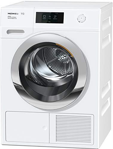 Miele TCR870 WP Eco&Steam WiFi&XL, Asciugatrice Libera Installazione, A+++, Pompa di Calore, Carico Frontale, 9 kg, Chrome