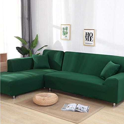 SZYUY Sofa Cover Slipcover Sets Gooi Groene Hoek Sofa Covers Voor Woonkamer Elastische Spandex Slipcovers Stoel Cover Stretch Sofa Handdoek