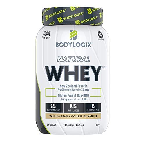 Bodylogix Natural Whey, Vanilla Bean, 840 g