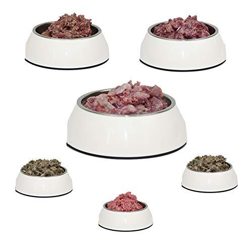 Komplettes Barfpaket, Hundelecker 25 kg, 7 Fleischsorten für den Hund zum Barfen
