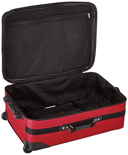 Samsonite Outpost 5 Piece Nested Luggage Set (Red)