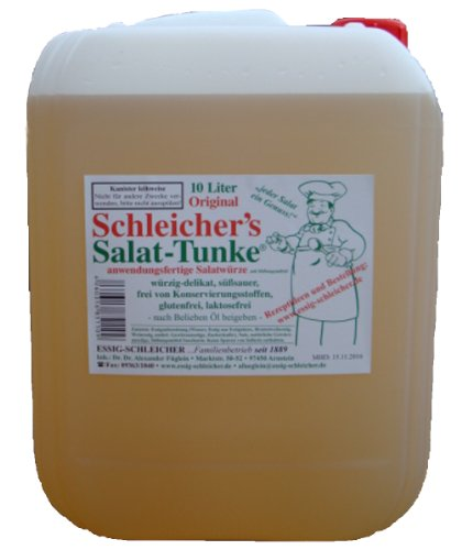 Original Schleicher\'s Salat-Tunke 10 Liter