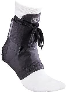 McDavid 195 Ultralight Ankle Brace with Figure-8 Strap, Black, Large