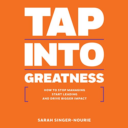 Tap into Greatness audiobook cover art